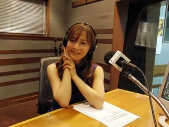 <写真>ラジオ番組の収録に挑んだ華原朋美(2013年11月3日)