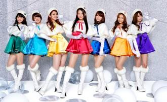 <写真>活動休止を発表したアイドルユニットFUJI★7GIRLs(2013年11月10日)