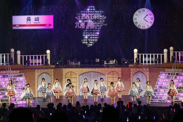 <写真>ツアー長崎公演に挑んだHKT48