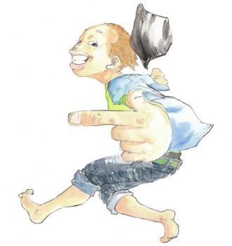 <写真>インディーズ音源をまとめた作品を発売したハジ→