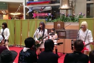 <写真>栃木・宇都宮で地元初演奏を行ったROOTS