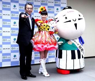 ももクロ百田夏菜子が浜松市の親善大使に