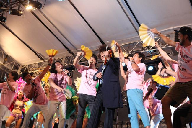 情熱大陸フェス東京公演(1)2014年8月9日