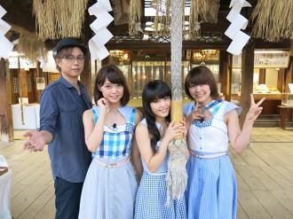 【写真】Negiccoが大槻ケンヂの番組に出演(2014年9月5日)