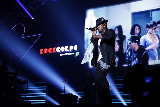 【写真】<RockCorps>NE-YOが熱唱(2014年9月6日)