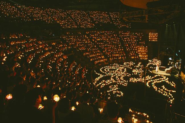 【写真】<Candle Night>幻想空間でMISIAが美声吹き込む2(2014年9月9日)
