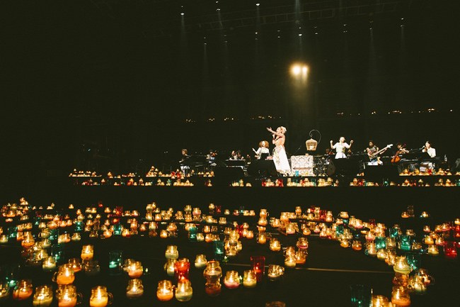 【写真】<Candle Night>幻想空間でMISIAが美声吹き込む1(2014年9月9日)