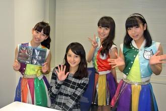 【写真】Cheeky Paradeが佐々木希を取材(2014年9月28日)