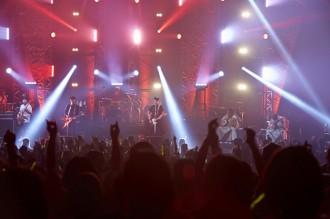 【写真】MONKEY MAJIKが全国ツアーで吉田兄弟と共演(2014年9月28日)