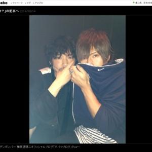 【写真】金爆樽美酒やっぱりイケメンだった(2014年10月15日)