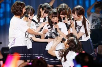 [写真]乃木坂46伊藤寧々が卒業公演で涙