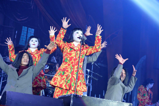 [写真]HALLOWEEN PARTY 2014=氣志團