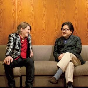 [写真]小室哲哉と秋元康が「小室哲哉ぴあ」で初対談