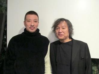 [写真]若旦那と須藤晃氏が対談で尾崎を語る