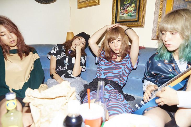 [写真]SCANDAL9月に新曲発売へ 早くも新曲「Sisters」の発売が決まったSCANDA