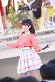 武藤彩未。11月3日に豊洲で行われたイベントの模様(第2部)