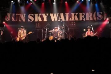 ツアーファイナルをLIQUIDROOMで行ったJUN SKY WALKER(S)