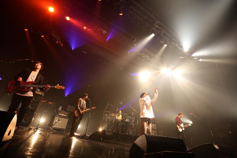ツアーを「ハッピーエンド」で締めくくったGOOD ON THE REEL(写真・Viola Kam)