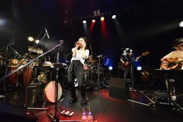 25日のツアーファイナルでソウルフルな歌を聴かせたNakamuraEmi(撮影・Rui Hashimoto(SOUND SHOOTER))