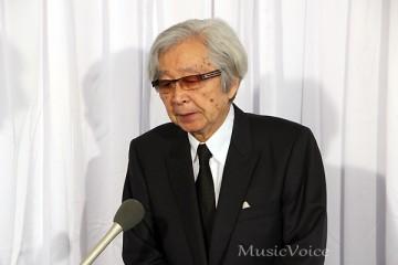 弔辞を述べた山田洋次監督(撮影・小池直也)
