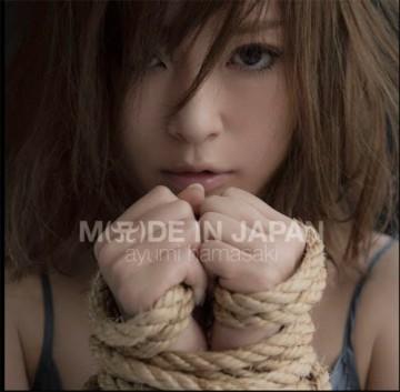 ざわちんのネタもと、浜崎あゆみのニューアルバム『M(A)DE IN JAPAN』ジャケット写真
