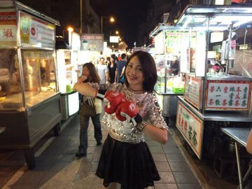 MTV台湾の番組に出演することが決まった吉川友。写真は過去の訪台の様子