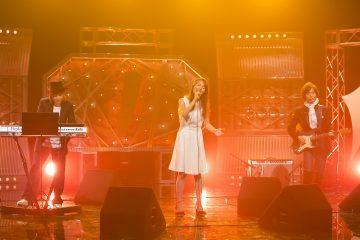 「J-MELO」オープニングテーマである「Have Dreams!」を3人揃って初パフォーマンス