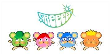 公開されたGReeeeNの新ロゴとキャラクター
