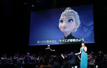 レット・イット・ゴーの場面(c)Disney