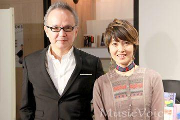 自伝トークイベントに出席した作詞家の売野雅勇と歌手の荻野目洋子(撮影・小池直也)
