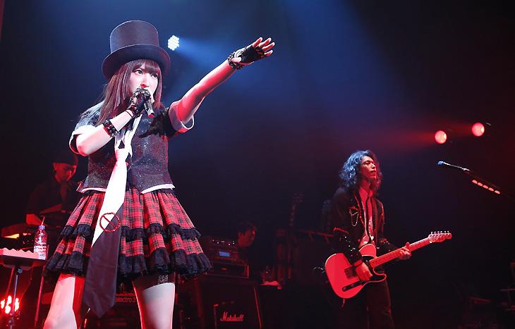 TRUSTRICKにとって、新たなステップに向けての試金石ともいえるステージとなった東京公演(撮影・森久)