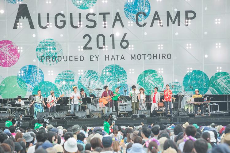 秦 基博のデビュー10周年を祝し、富士急ハイランド・コニファーフォレストで開催したAugusta Camp 2016
