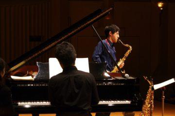上野耕平コンサートの模様