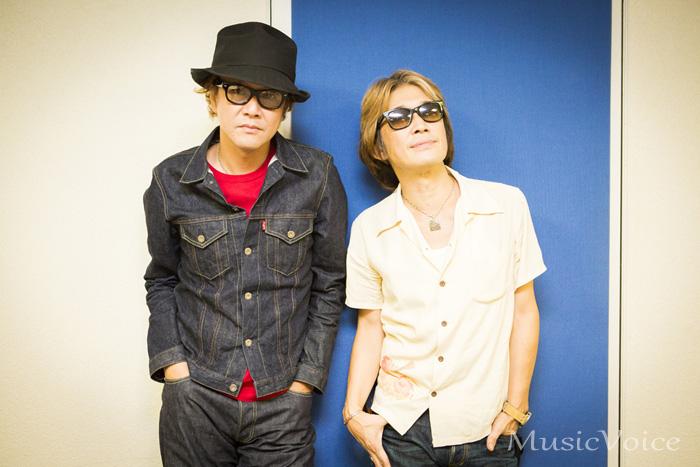 SAのTAISEIとNAOKI。「僕らが知っていた若い頃に聴いていた音楽のエッセンスも入っている。それは今の若い子にとっては新しいものだと思う」