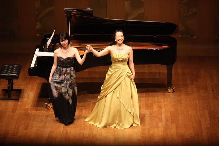コンサートをおこなった小林沙羅(写真提供・Hakuju Hall)