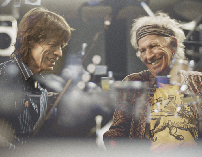 ミック・ジャガー(左)とキース・リチャード。11年ぶり新譜は原点回帰を思わせるブルース・アルバム