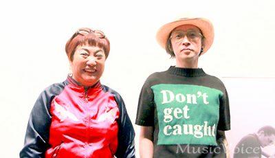 映画「ブルーに生まれついて」のトークイベントに出席した菊地成孔と湯山玲子(撮影・小池直也)
