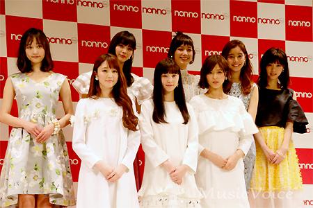 欅坂46渡邉理佐「憧れていた」non-no専属モデルに、グループ初