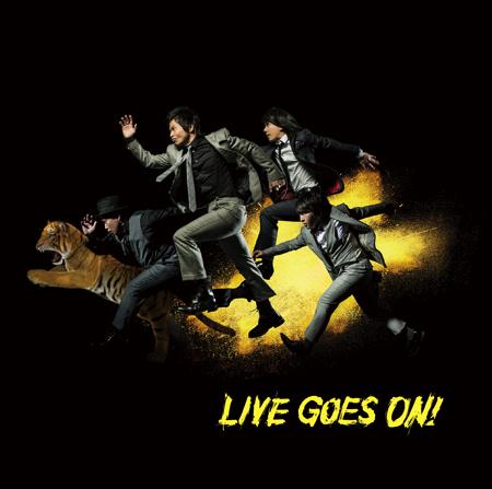 『LIVE GOES ON!』ジャケ写