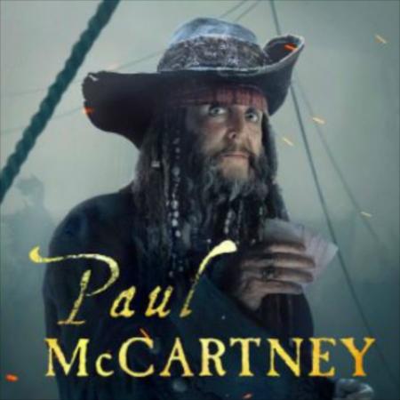 『パイレーツ・オブ・カリビアン/最後の海賊』に出演するポール・マッカートニー