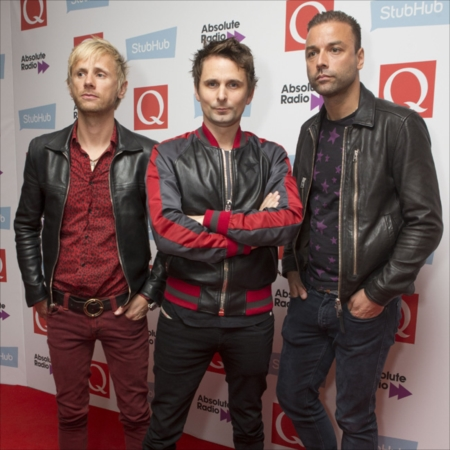 Muse at the Q Awards, Roundhouse, London, UK
