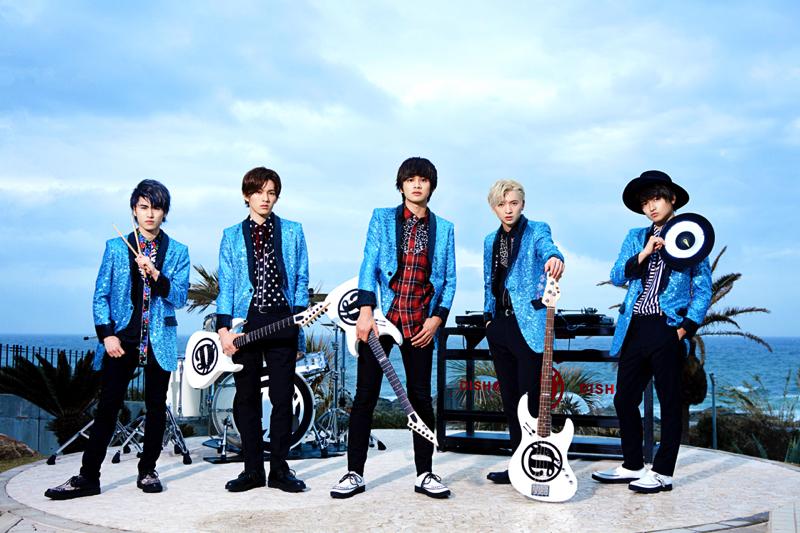 今年から新メンバーに泉が加わりパワーアップした新曲「I'm FISH//」をリリースしたDISH//