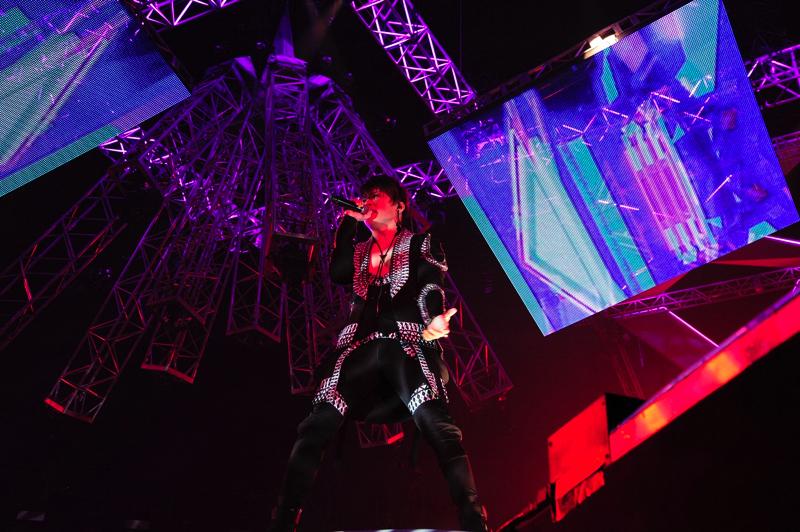 昨年から続いたデビュー20周年メモリアルイヤーの総決算ともいえるライブをおこなったT.M.Revolution