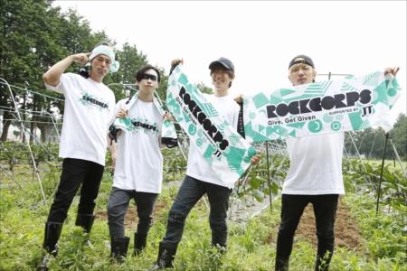 福島の農地のボランティアにサプライズ参加したSPYAIR