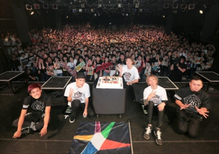 『FLOW 15th Anniversary TOUR 2017 We are still Fighting Dreamers』を開催したFLOW