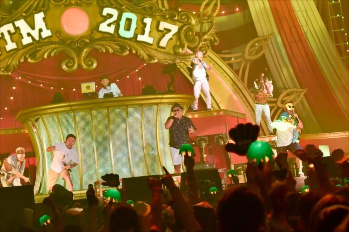 全国アリーナツアー『KTM TOUR 2017 幻の六本木大サーカス団 「ハッキリ言ってパーティーです!!」』の東京公演