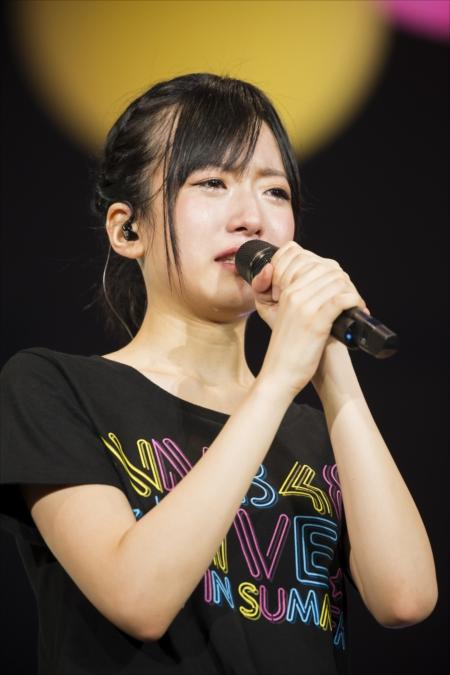 (C)NMB48涙流しながら心境を語る須藤凜々花