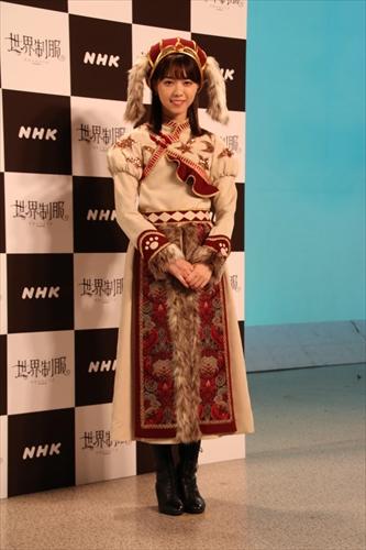 番組の衣装に身を包んだ、乃木坂46西野七瀬