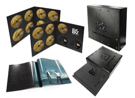 B'z COMPLETE SINGLE BOX