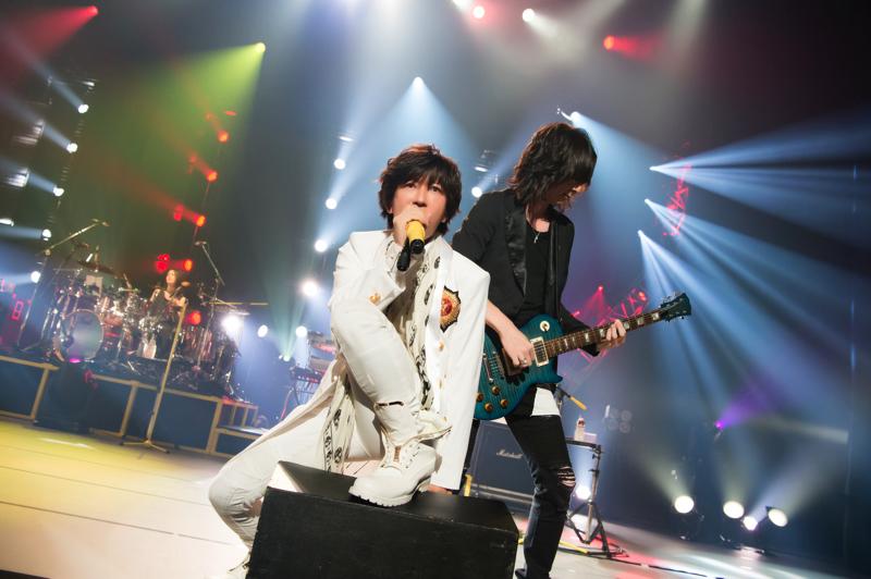 昭和女子大学 人見記念講堂でワンマンライヴ『15th ANNIVERSARY LIVE 』をおこなったTETSUYA